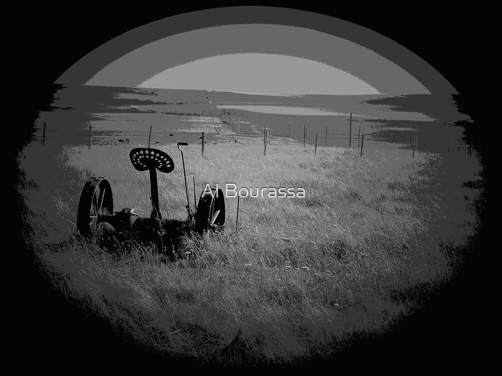 Forgotten Prairie by Al Bourassa