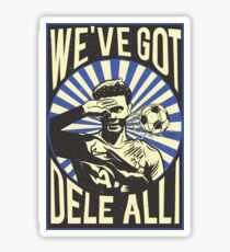 Dele Alli Celebration Sticker