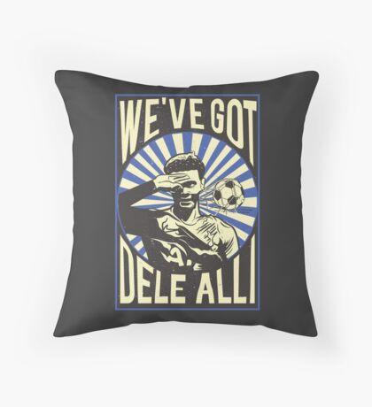 Dele Alli Celebration Throw Pillow
