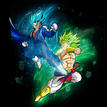 Dragon Ball: Vegito Vs Broly by nathdesign