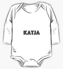 Font Name Katja One Piece - Long Sleeve