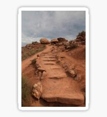 Another Hike to Delicate Arch - Must Have Missed The Sign - 1 ©  Sticker