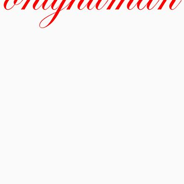 onlyhumanscript_red by onlyhuman