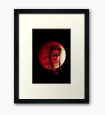 Bloodmoon Tribe Framed Print