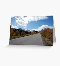 To Mountains & Sky Greeting Card