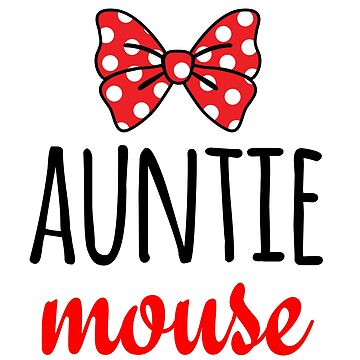 Auntie Mouse Polka Dot Bow by CarbonClothing
