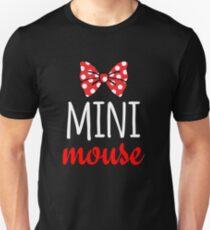 Mini Mouse Polka Dot Bow Unisex T-Shirt