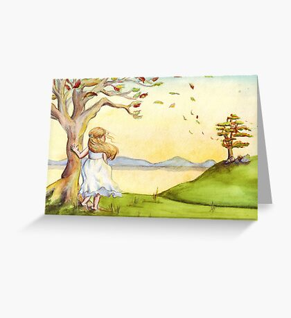 Penny Greeting Card