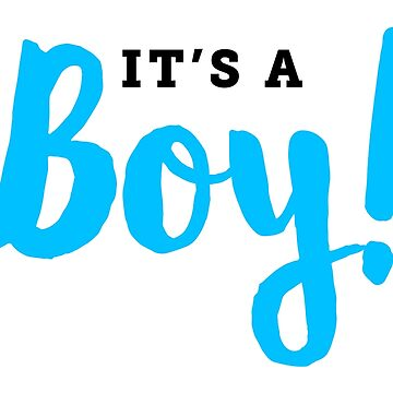 It's A Boy by CarbonClothing