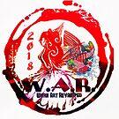 war logo fish by Lesley A Marsh