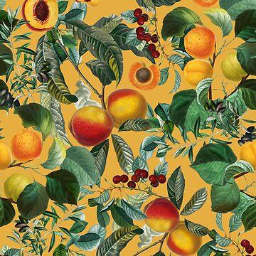 Floral and Fruit pattern II by burcukyurek