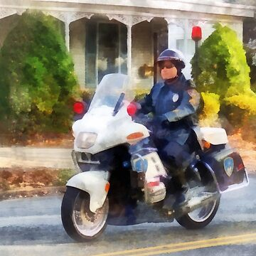 Suburban Motorcycle Cop by SudaP0408