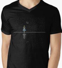 Alice In Wonderland Starry Night V-Neck T-Shirt