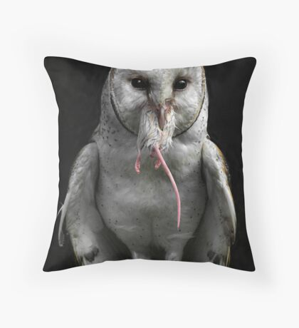 The Mouse Trap Throw Pillow