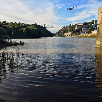 Bristol - Clifton Suspension Bridge & Concorde by john76