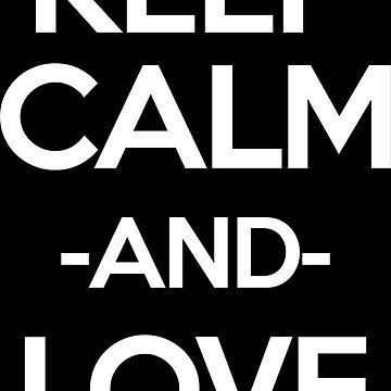 Keep Calm Anime Inspired Shirt by JaneFlame
