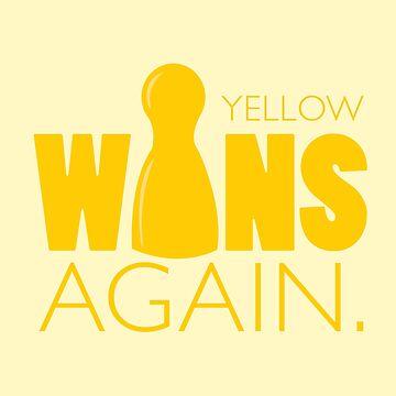 Yellow Wins Again by RhoaDesigns
