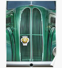 Ford Popular Grill Poster