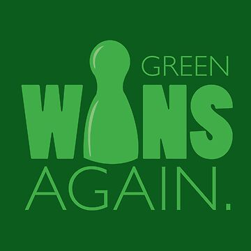 Green Wins Again by RhoaDesigns