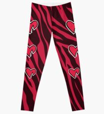 HBK Zebra Herz Leggings