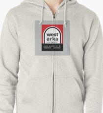 004 | West Arka Matchbook Zipped Hoodie