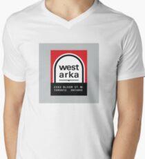 004 | West Arka Matchbook Men's V-Neck T-Shirt