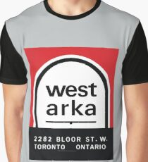 004   West Arka Matchbook Graphic T-Shirt