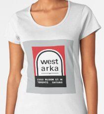 004 | West Arka Matchbook Women's Premium T-Shirt