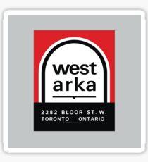 004   West Arka Matchbook Sticker