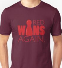 Red Wins Again Unisex T-Shirt