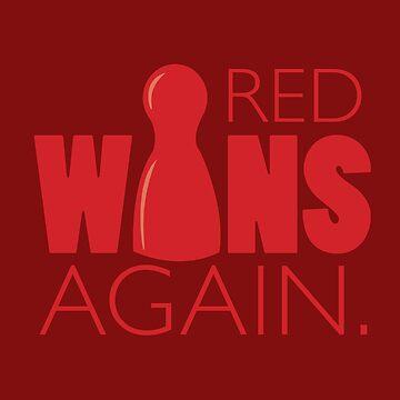 Red Wins Again by RhoaDesigns