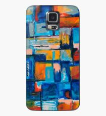 Playful mixed media abstract Case/Skin for Samsung Galaxy