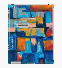 Playful mixed media abstract iPad Case/Skin