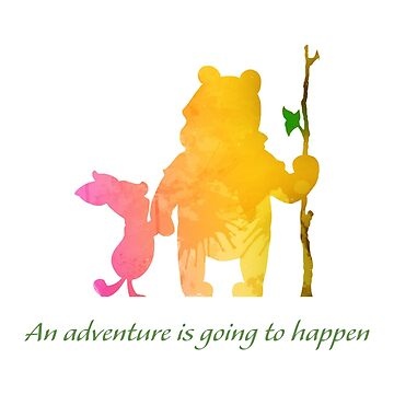 An adventure is going to happen Inspired Silhouette by InspiredShadows