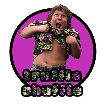 The Goonies - Chunk - Truffle Shuffle by UnconArt