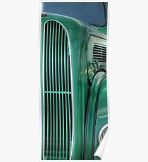 Ford Popular Car Grill #4 Poster