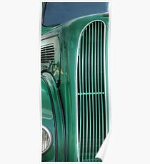 Ford Popular Car Grill #3 Poster
