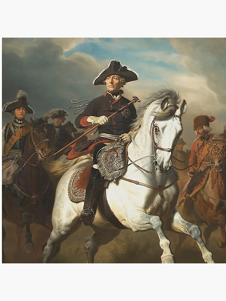 Frederick the Great with his Generals by edsimoneit