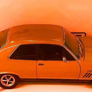 Carrot Colour Car Orange by TeAnne