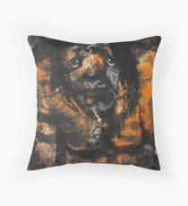 Depressive cave troll  Throw Pillow