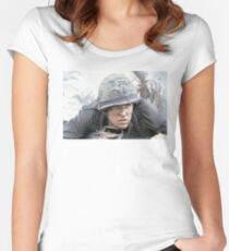 Full Metal Jacket - Born To Kill Women's Fitted Scoop T-Shirt