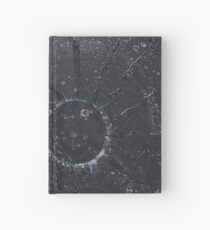 Black Sun original painting Hardcover Journal