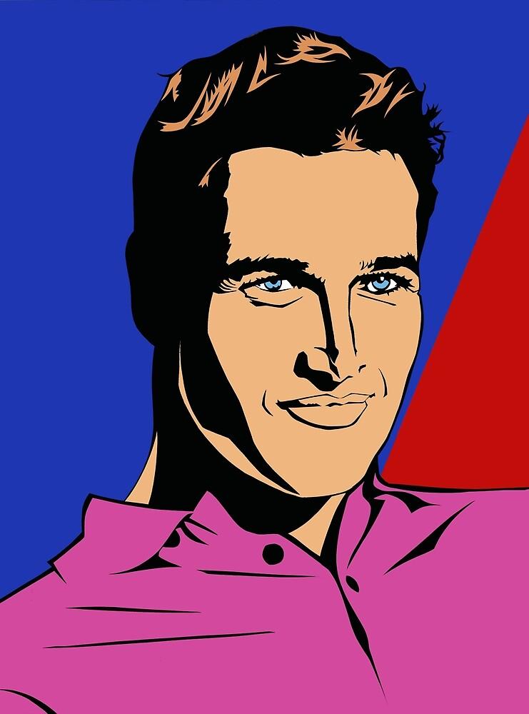 Paul Newman by Richard Ackoon