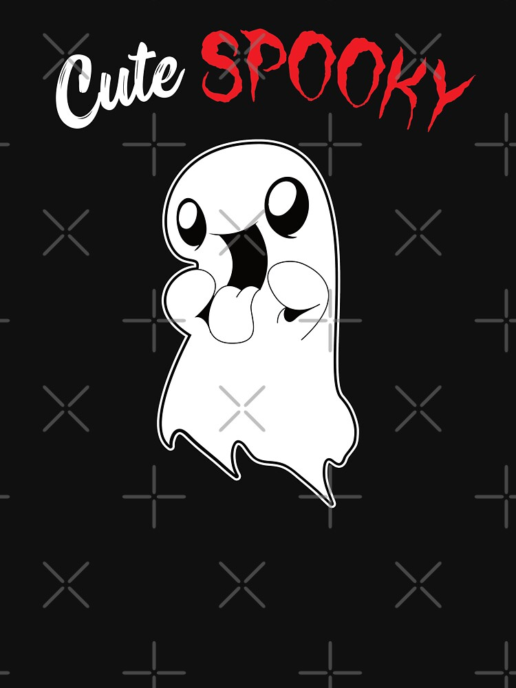 Kids Halloween Shirt - cute spooky ghost by Juttas-Shirts