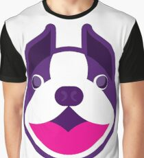 Happy Puppy Face  Graphic T-Shirt