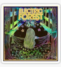 Electric Forest 2018 Design Sticker