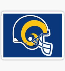 Rams of LA- Helmet Sticker
