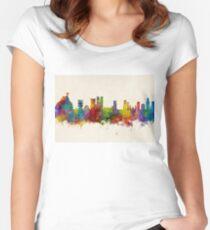 Rio de Janeiro Skyline Brazil Women's Fitted Scoop T-Shirt