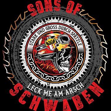 Sons of Swabia by phskulmshirt