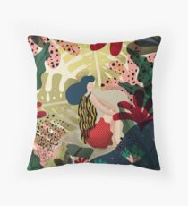 Relaxed In Jungle Throw Pillow